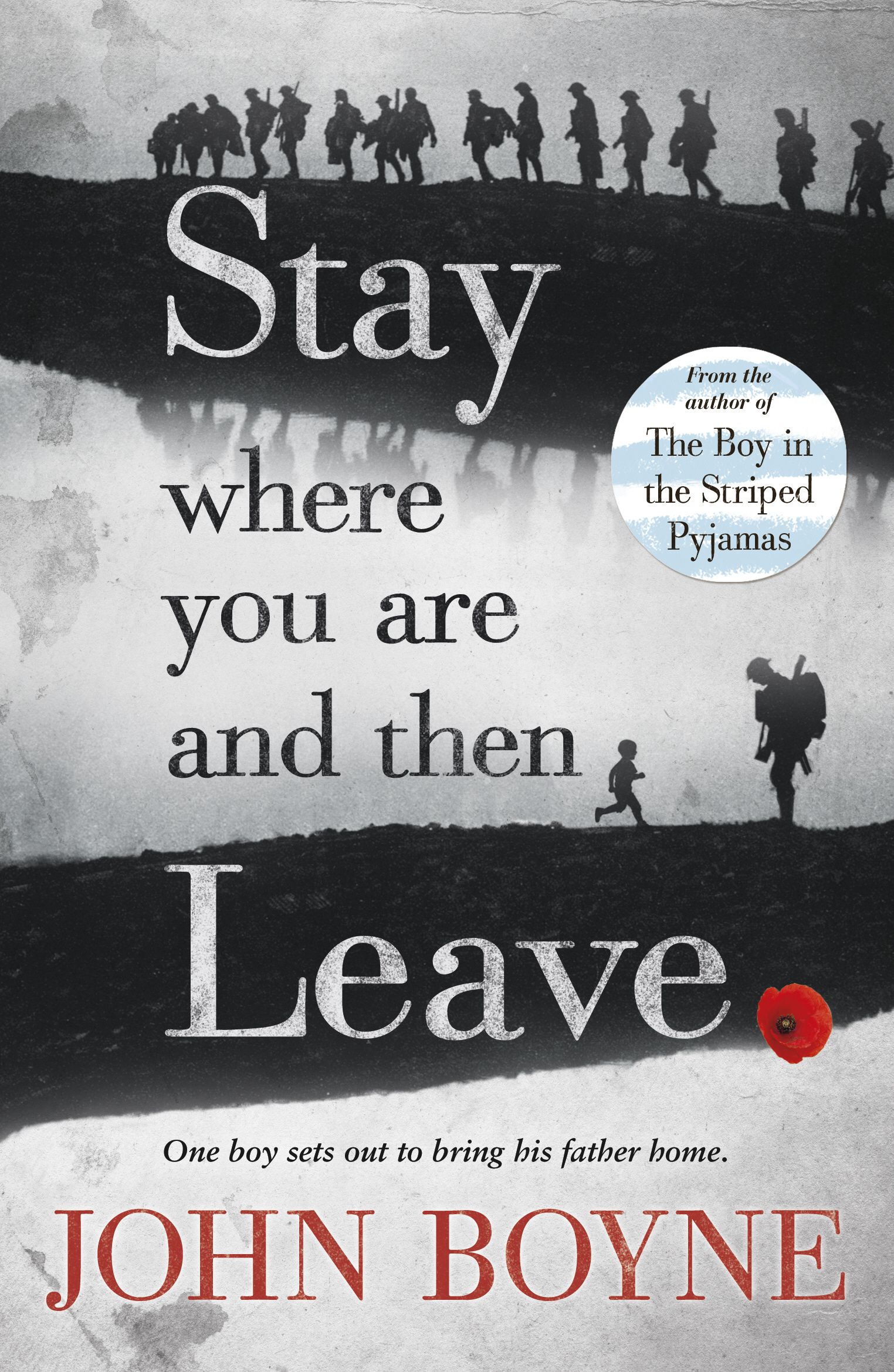 biography john boyne stay where you are and then leave